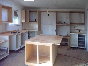 Kitchen Being Remodeled